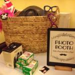 photobooth with polaroid instant