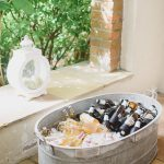 tin drinks bath